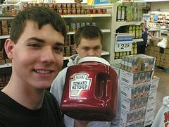 Tomato Ketchup Tub